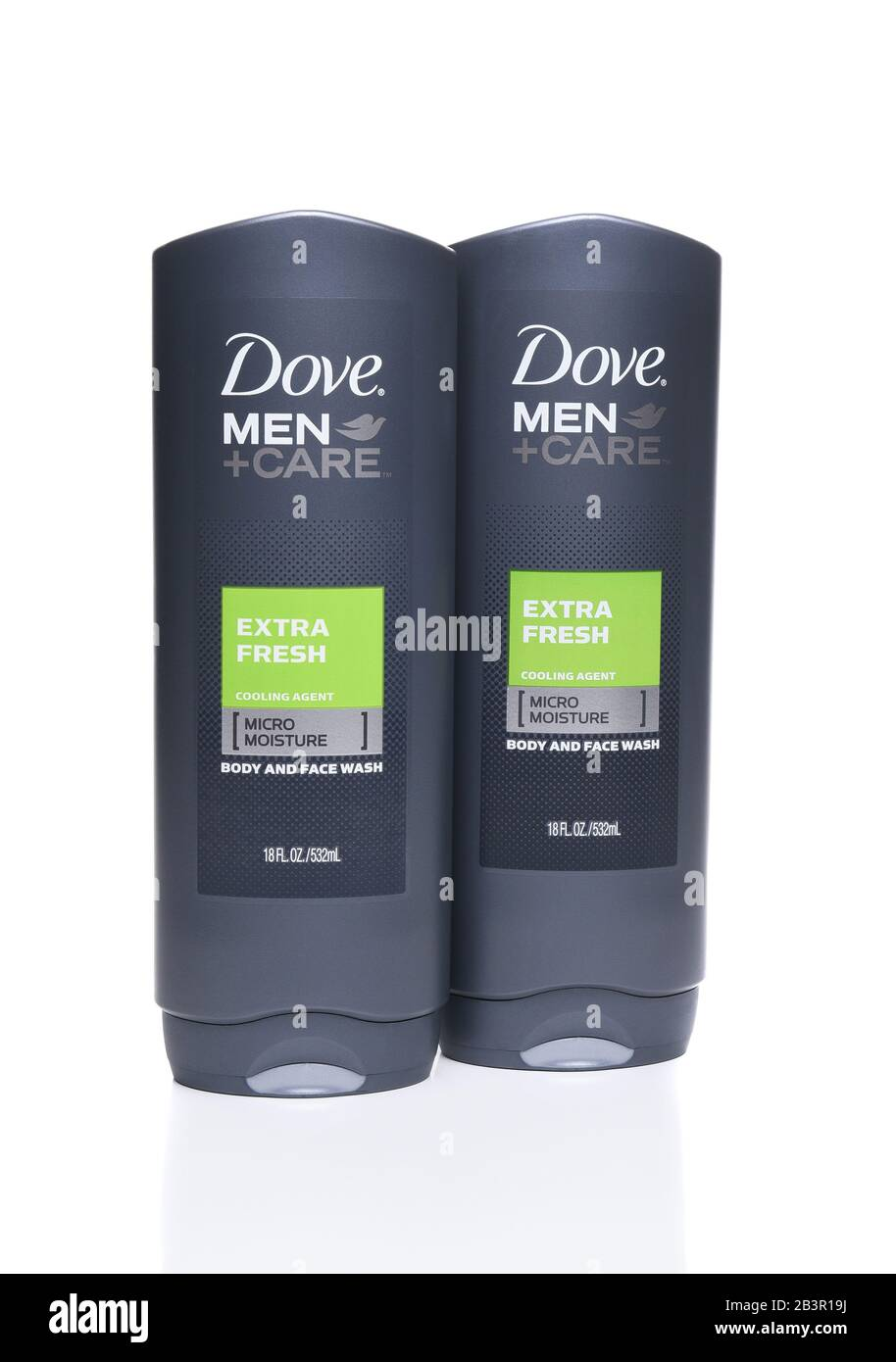 Irvine Ca September 22 2017 Dove Men Care Extra Fresh Body And Face Wash Dove Is A Personal Care Brand Owned By Unilever Stock Photo Alamy