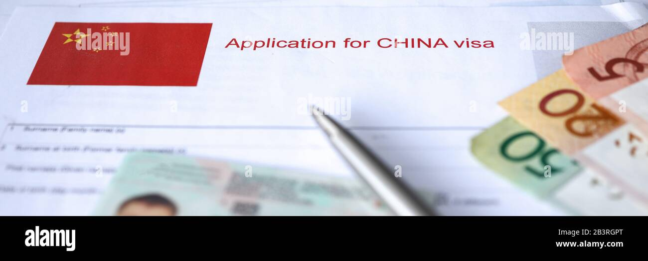 China Visa High Resolution Stock Photography And Images Alamy