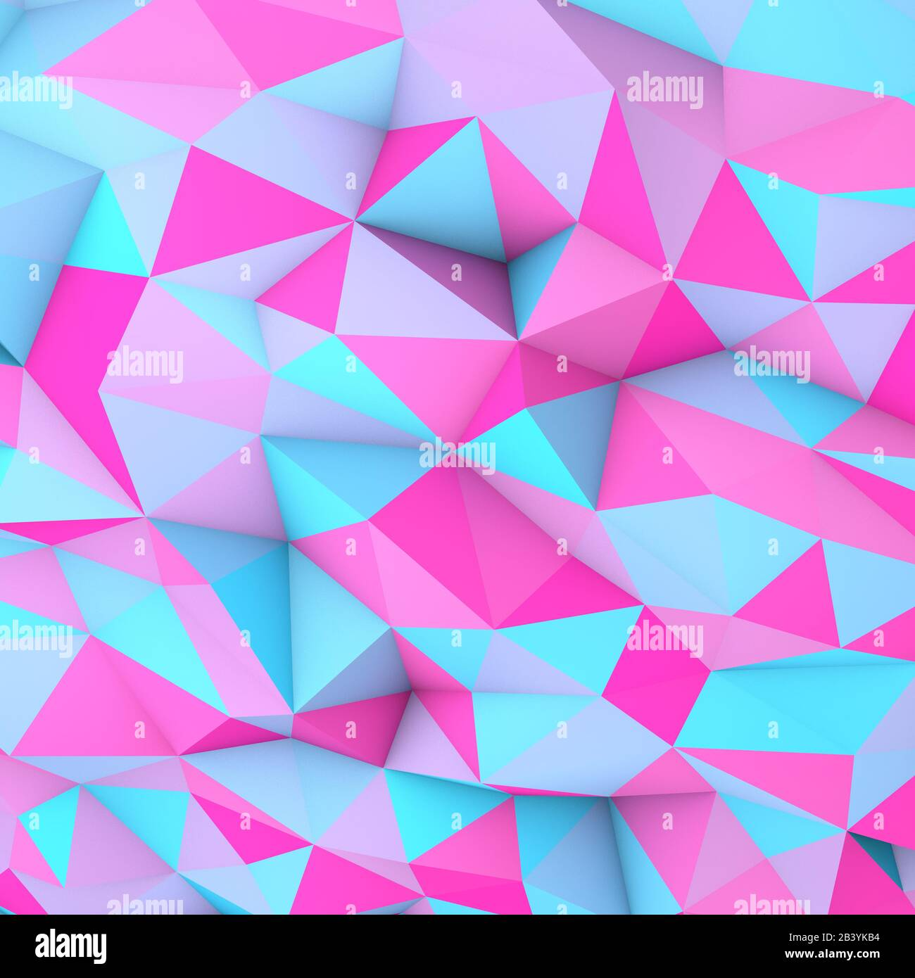 3d Illustration Of A Low Poly Wallpaper Or Background In Pastel Colors Stock Photo Alamy