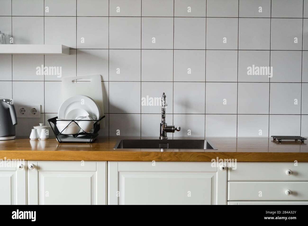 Kitchen Sink And Faucet Stainless Kitchen Sink And Tap Water The