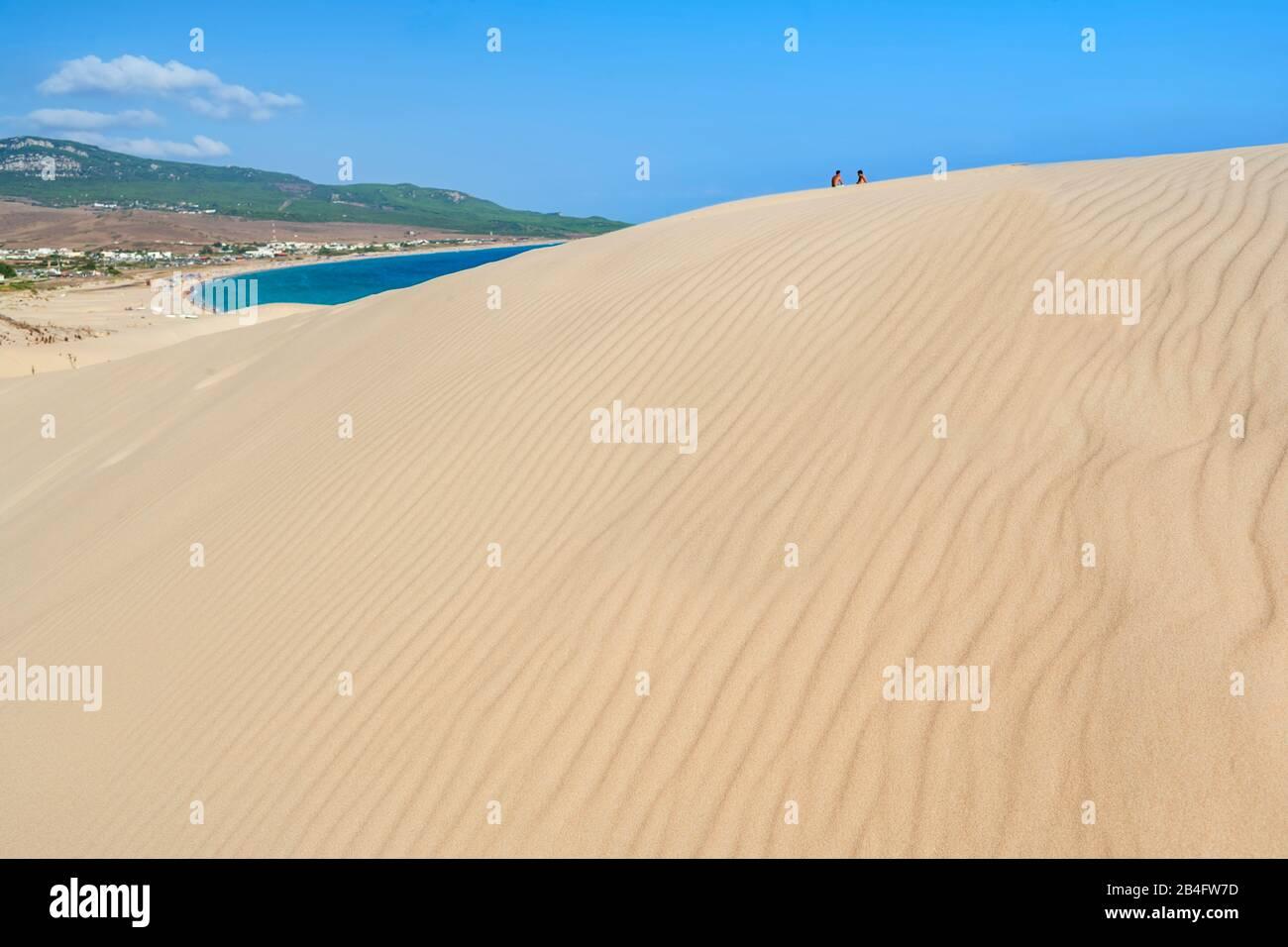 Bolonia Beach, Bolonia, Cadiz Province, Costa de la Luz, Andalusia, Spain Stock Photo