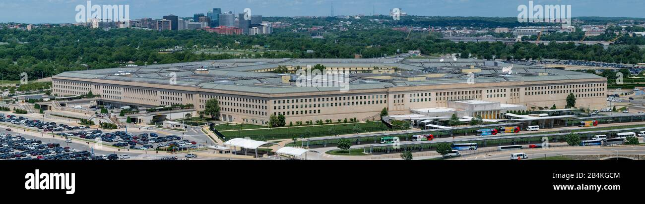 Pentagon Overlook High Res Stock Photo