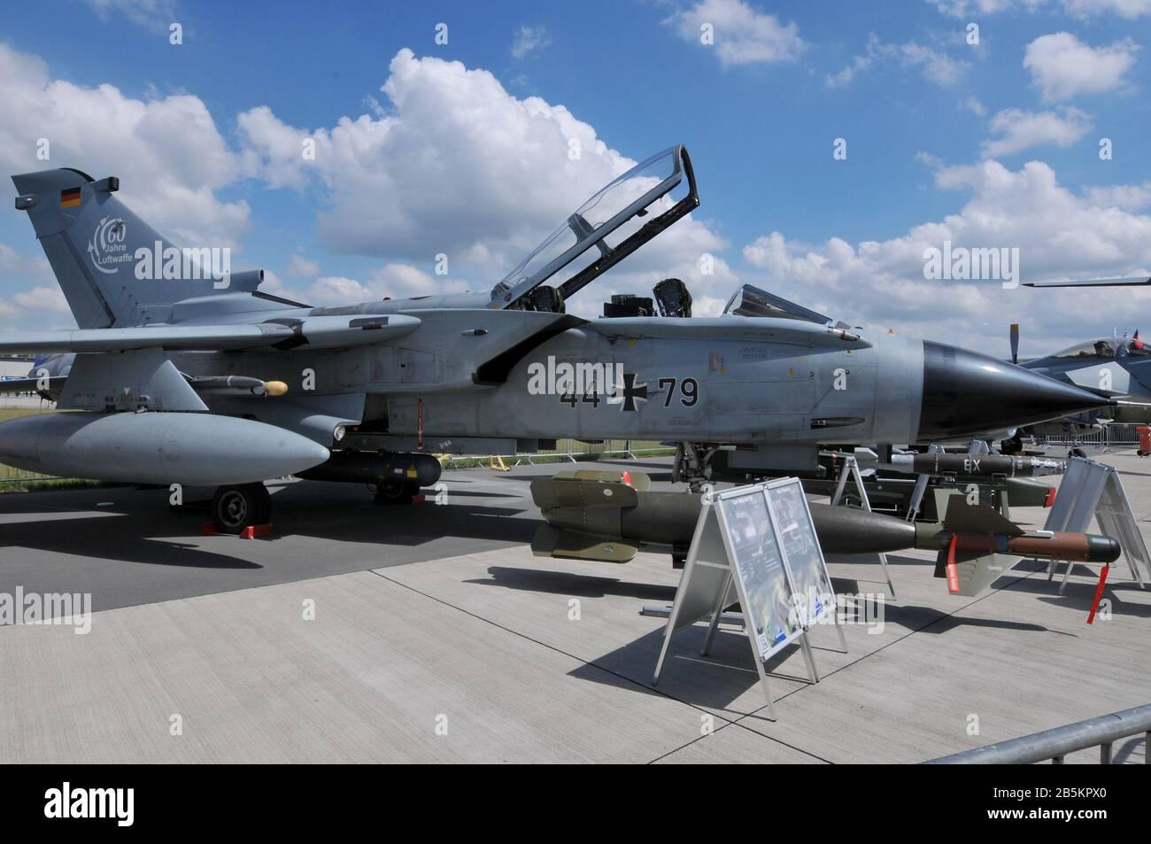 Tornado IDS, Deutsche Luftwaffe, ILA, Berlin-Schoenefeld, Deutschland Stock Photo