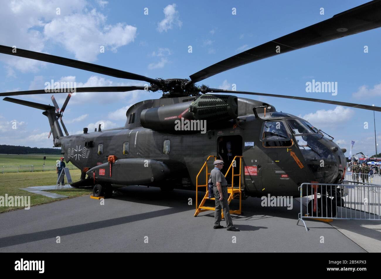 Eurocopter, CH-53GA, ILA, Berlin-Schoenefeld, Deutschland Stock Photo