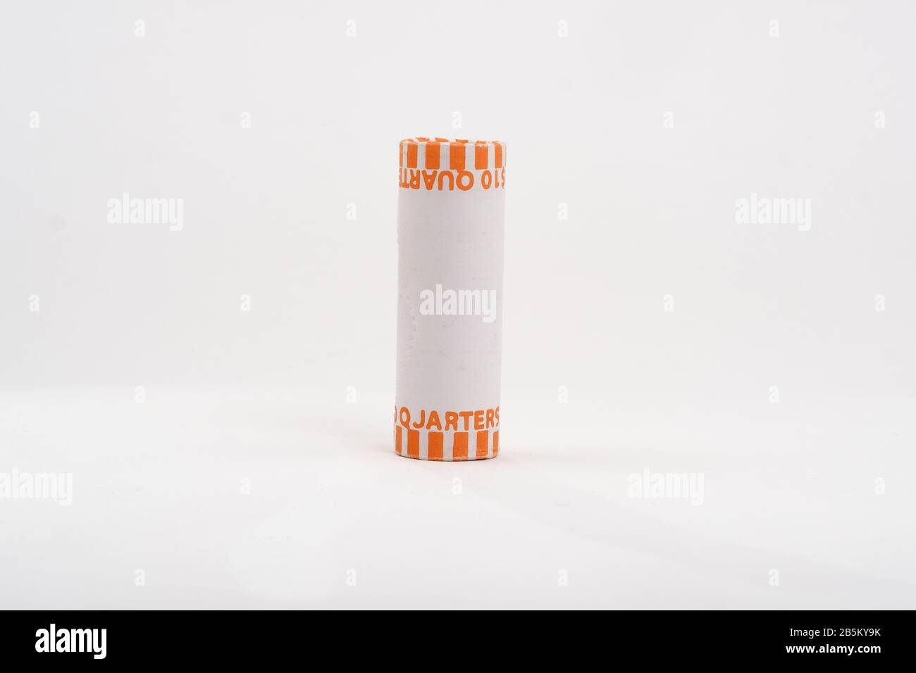 Roll Of Quarters High Resolution Stock Photography And Images Alamy