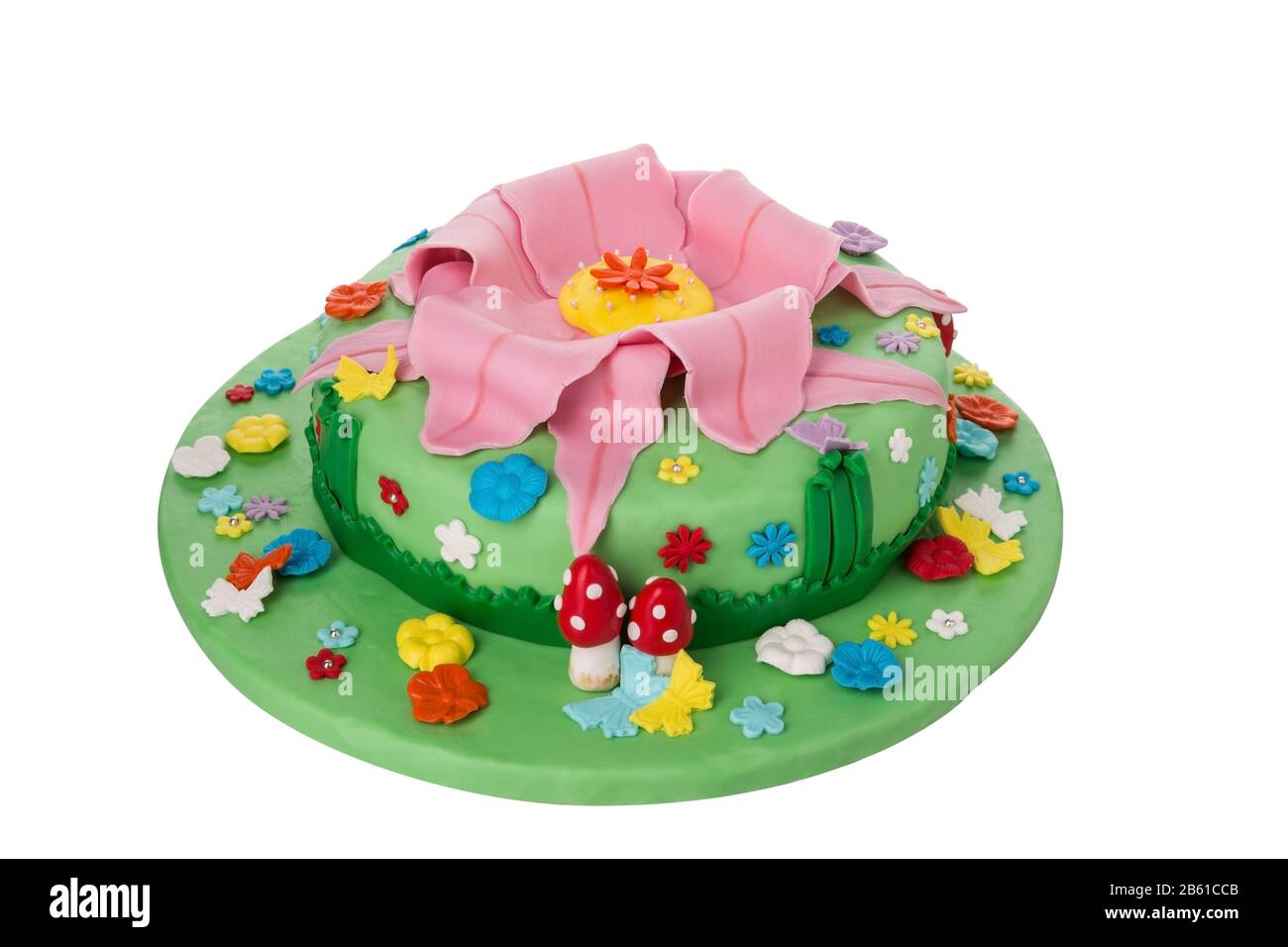 Fantastic Delicious And Creative Birthday Cake For Children Theme Nature Personalised Birthday Cards Bromeletsinfo