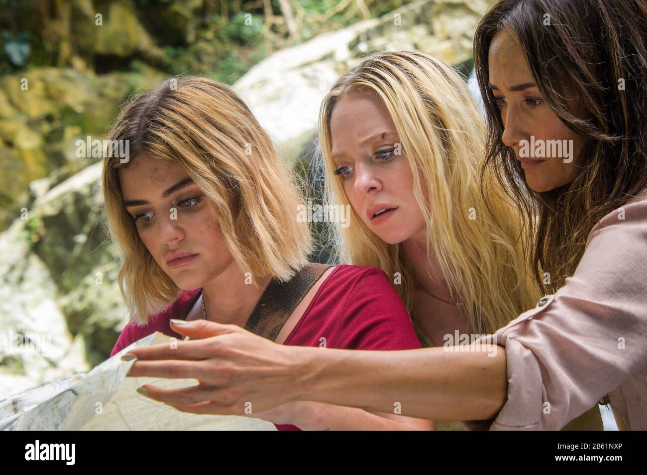 MAGGIE Q, LUCY HALE and PORTIA DOUBLEDAY in FANTASY ISLAND (2020 ...