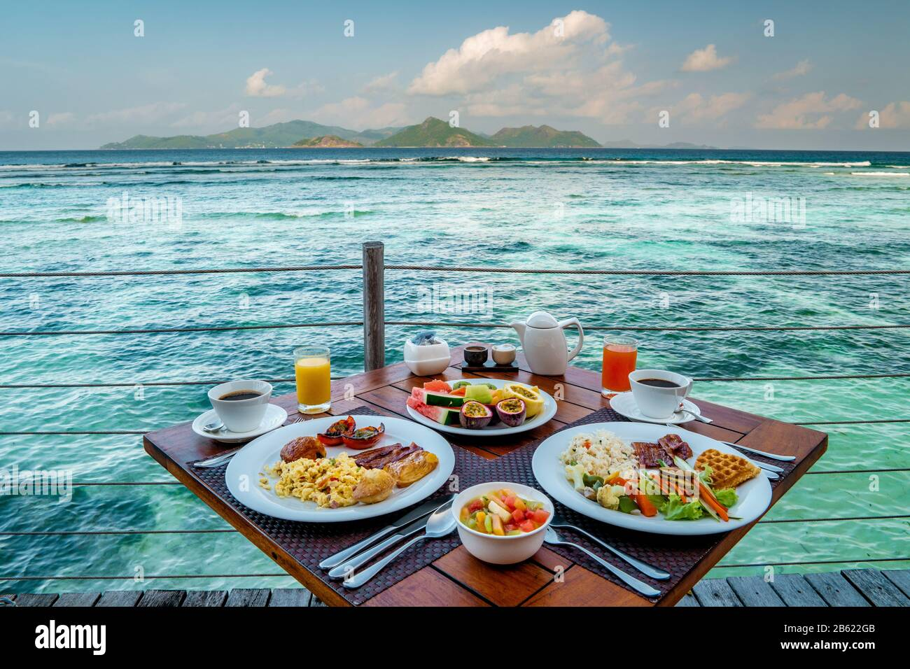 Breakfast On The Beach High Resolution Stock Photography and Images - Alamy