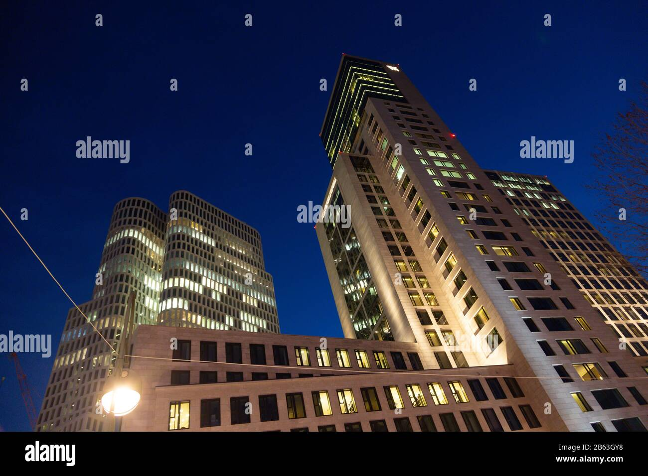 Residential And Office Building With Hotel Motel One Berlin Upper West And Waldorf Astoria In Charlottenburg Berlin Germany Stock Photo Alamy