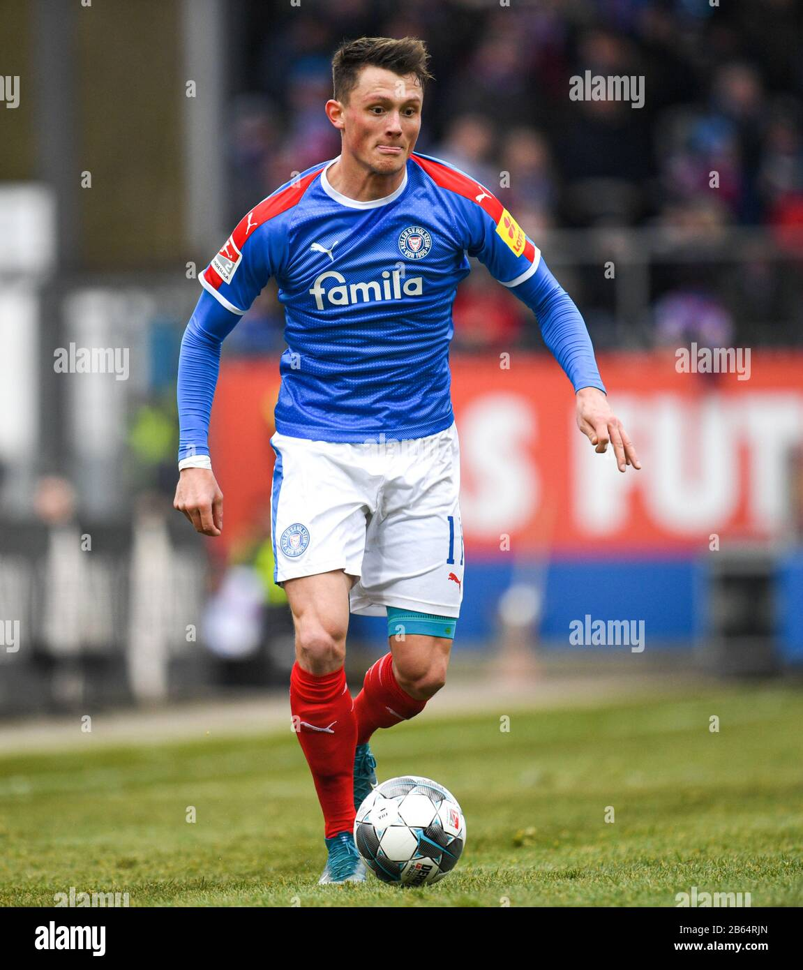 Kiel Germany 08th Mar 2020 Football 2nd Bundesliga 25th Matchday Holstein Kiel Spvgg Greuther Furth At