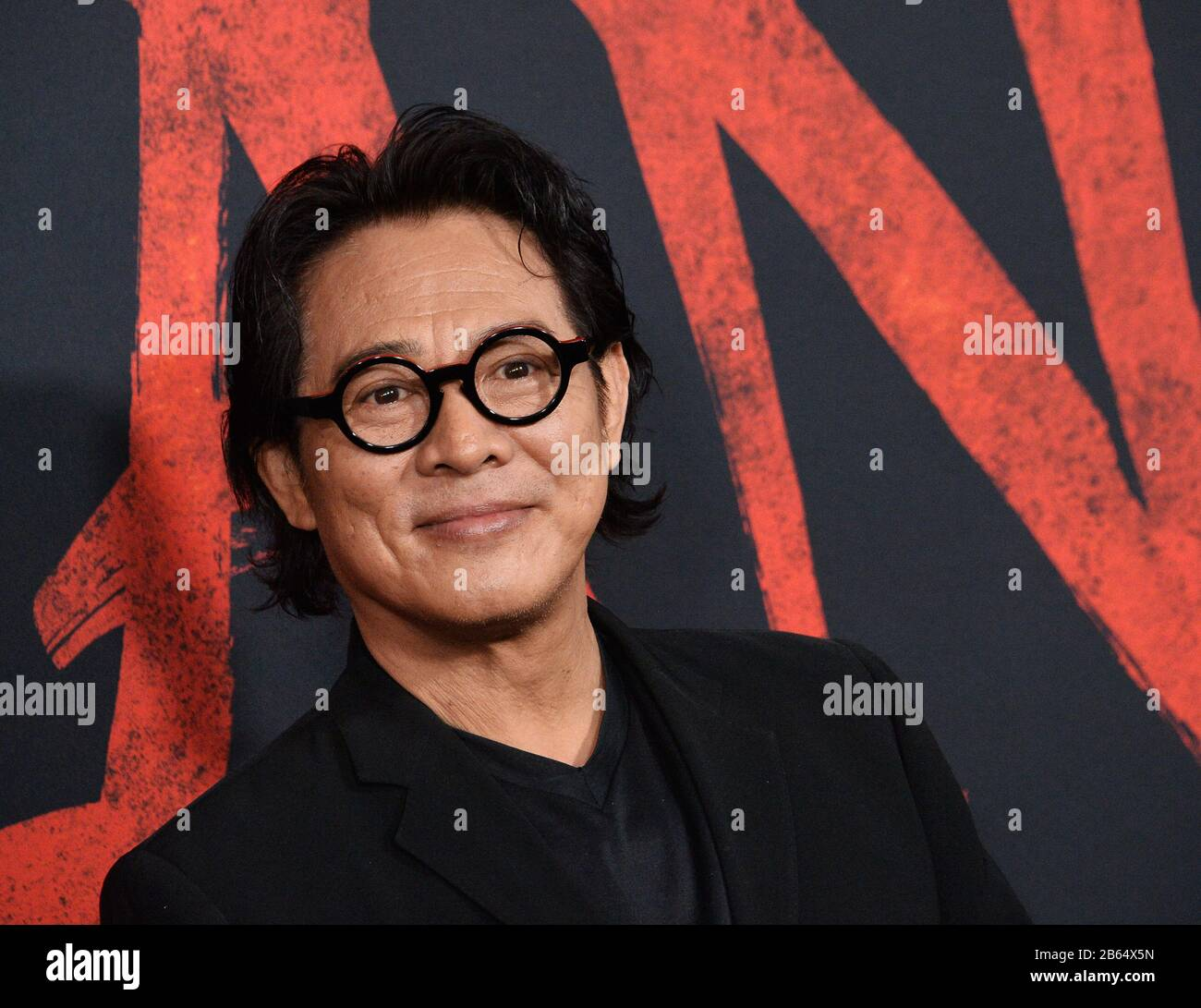 Los Angeles United States 9th Mar 2020 Cast Member Jet Li Attends The Premiere Of The Motion Picture Adventure Drama Mulan At The Dolby Theatre In The Hollywood Section Of Los Angeles