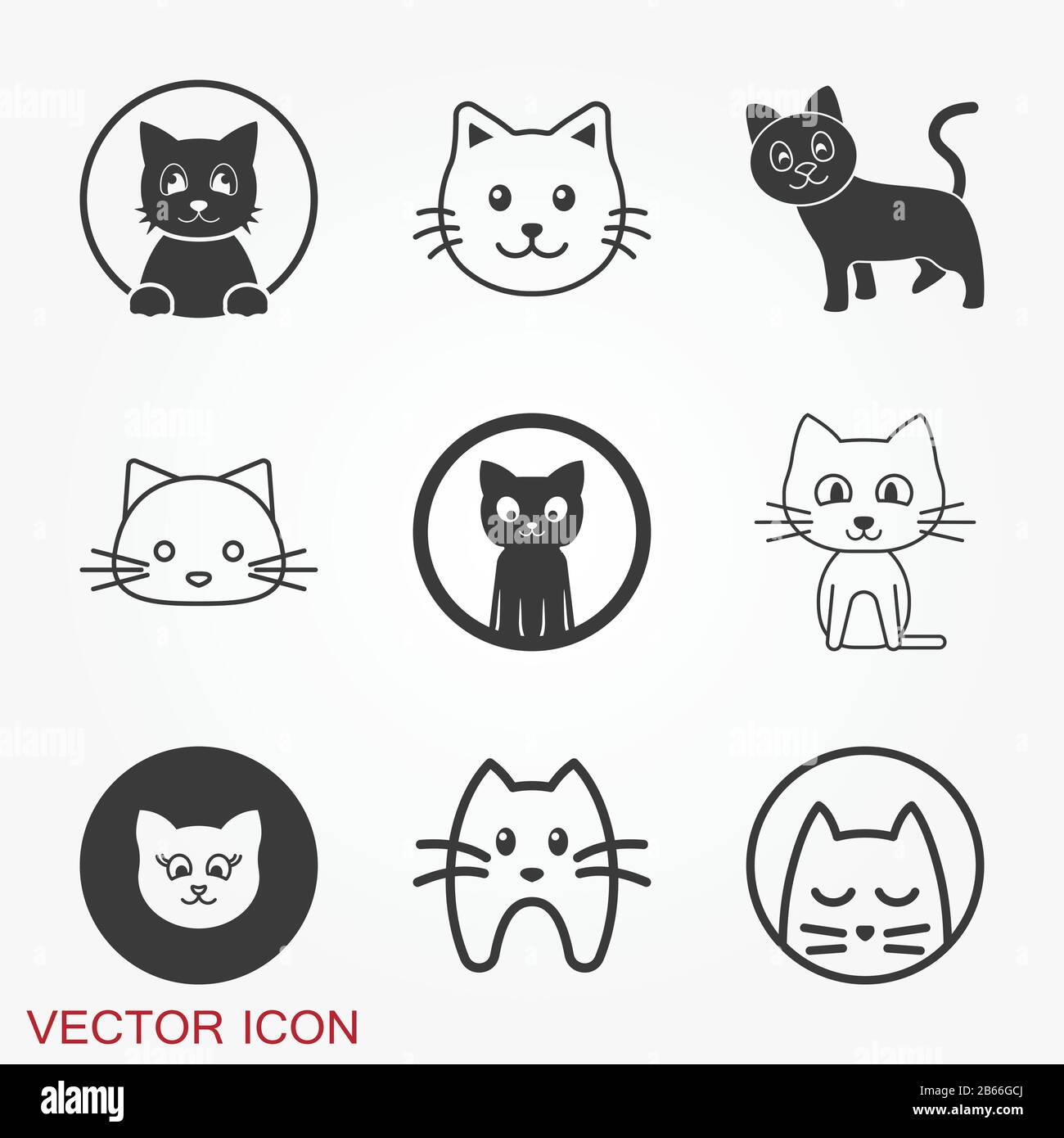 Kitty Vector Icon Cat Symbol Isolated On Background Stock Vector Image Art Alamy Download all 205 cat icons unlimited times with a single envato elements subscription. https www alamy com kitty vector icon cat symbol isolated on background image348039906 html