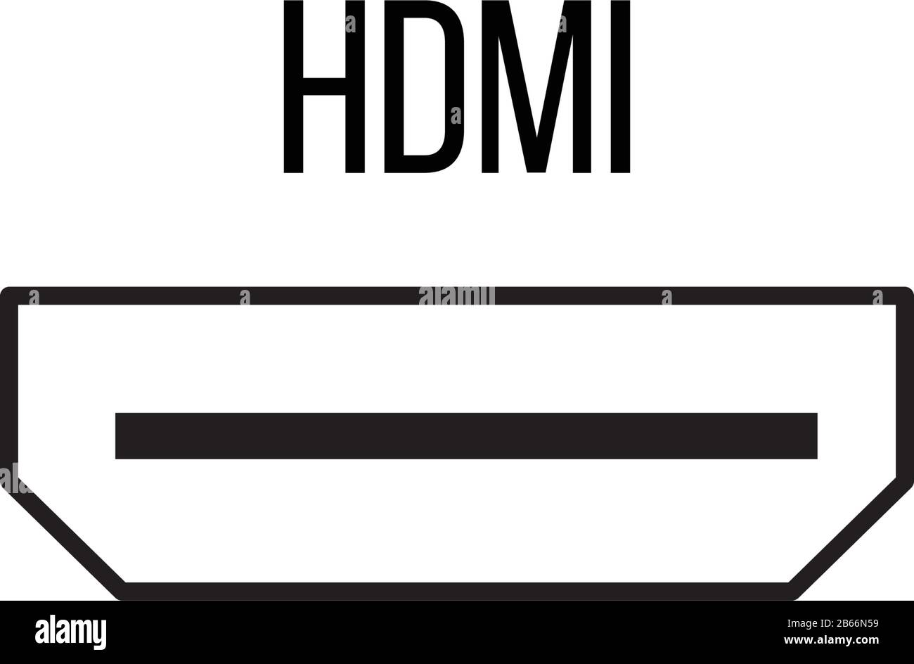 hdmi icon from electronic devices collection line vector sign symbol for web and mobile stock vector illustration isolated on white background stock vector image art alamy https www alamy com hdmi icon from electronic devices collection line vector sign symbol for web and mobile stock vector illustration isolated on white background image348043621 html