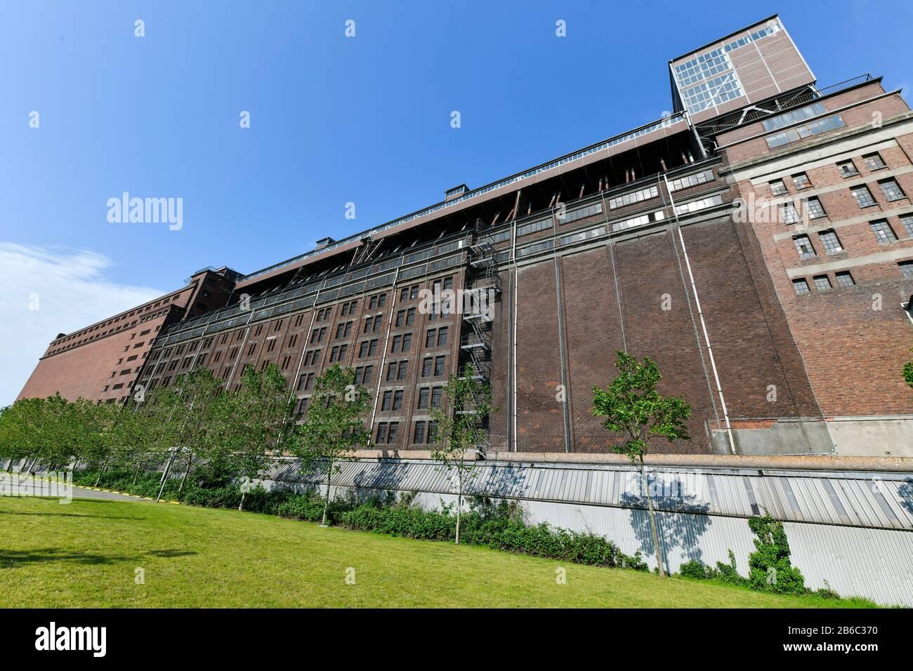 """Getreideverkehrsanlage Gröpelingen """"Der Koloss"""", Bremen, Deutschland Stock Photo"""