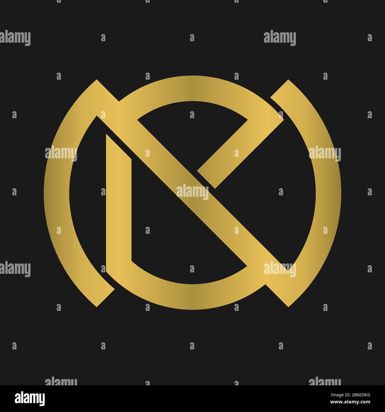N B Nb Bn Letter Logo Design And Monogram Logo Stock Vector Image Art Alamy
