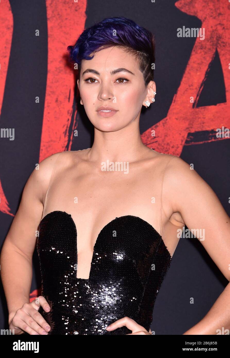 Hollywood Ca March 09 Jessica Henwick Attends The Premiere Of Disney S Mulan At The El Capitan Theatre On March 09 2020 In Hollywood California Stock Photo Alamy