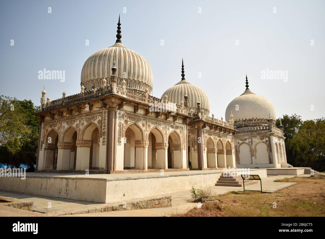 Ancient Antique 400 Years Old Sultan Seven Qutub Shahi Rulers of Hyderabad Seven Tombs Stock Photography Image Stock Photo