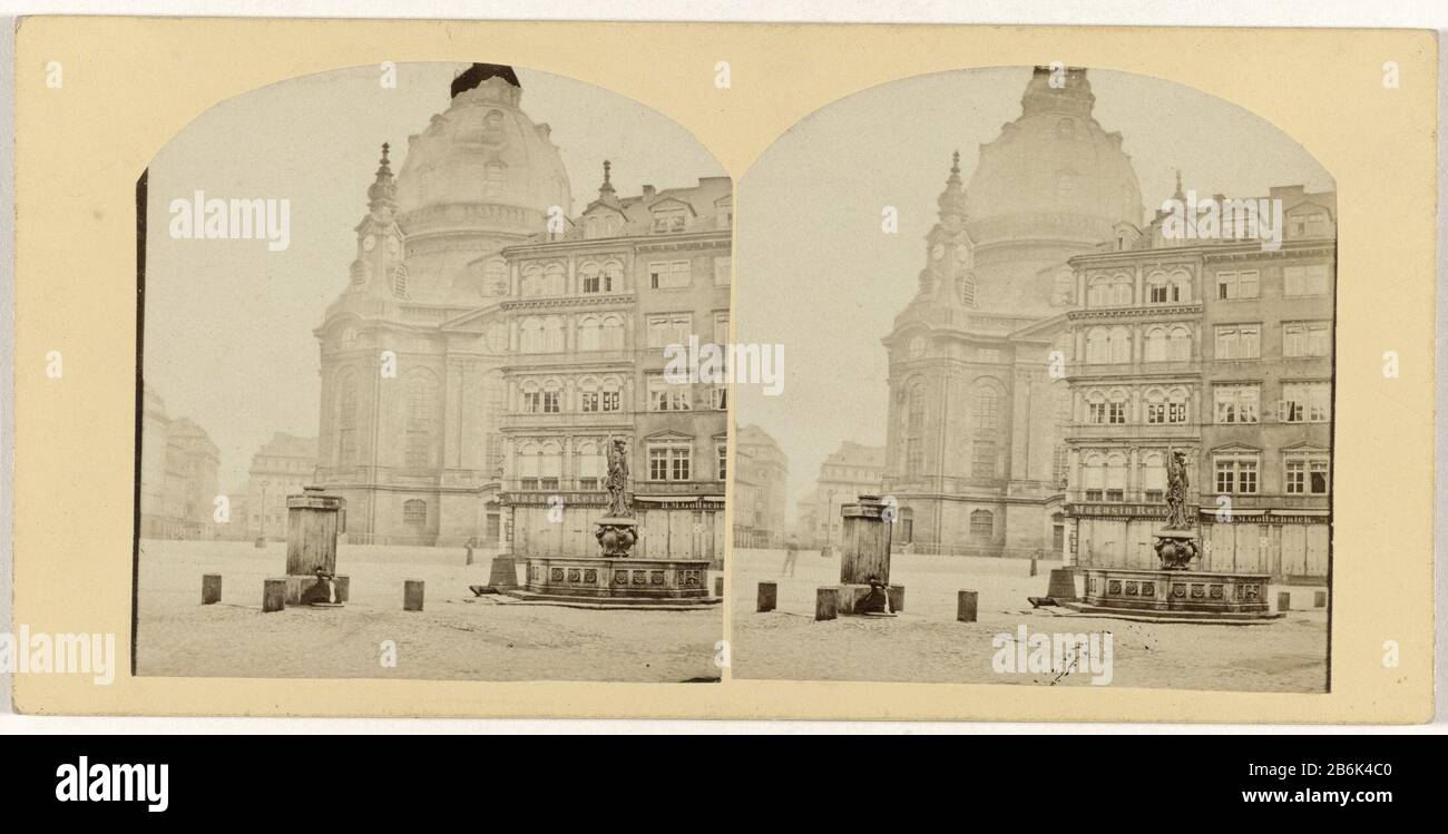 Dresden, Church EVANGELIQUE Dresden, Eglise evangelique Object Type : photo stereo picture Item number: RP-F F14019 Manufacturer : Photographer: anonymous Date: 1850 - 1880 Physical features: photography on carton material: Cardboard Technique: Photography Dimensions: Secondary medium: h 75 mm × W 150 mm Stock Photo