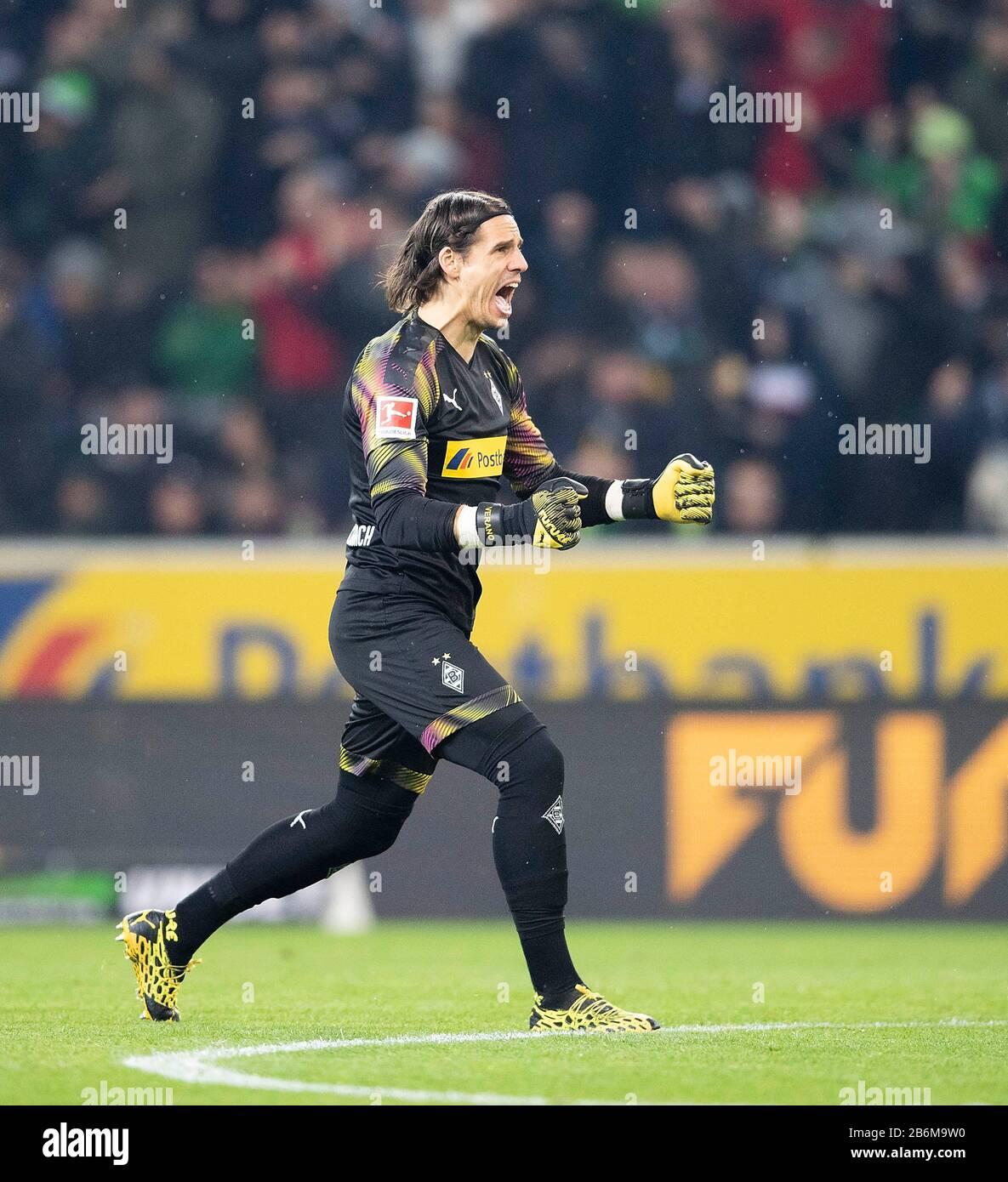Jubilation Goalwart Yann Sommer Mg Soccer 1 Bundesliga 25th Matchday Borussia Monchengladbach Mg Borussia Dortmund Do 1 2 On March 7th 2020 In Borussia Monchengladbach Germany Usage Worldwide Stock Photo Alamy