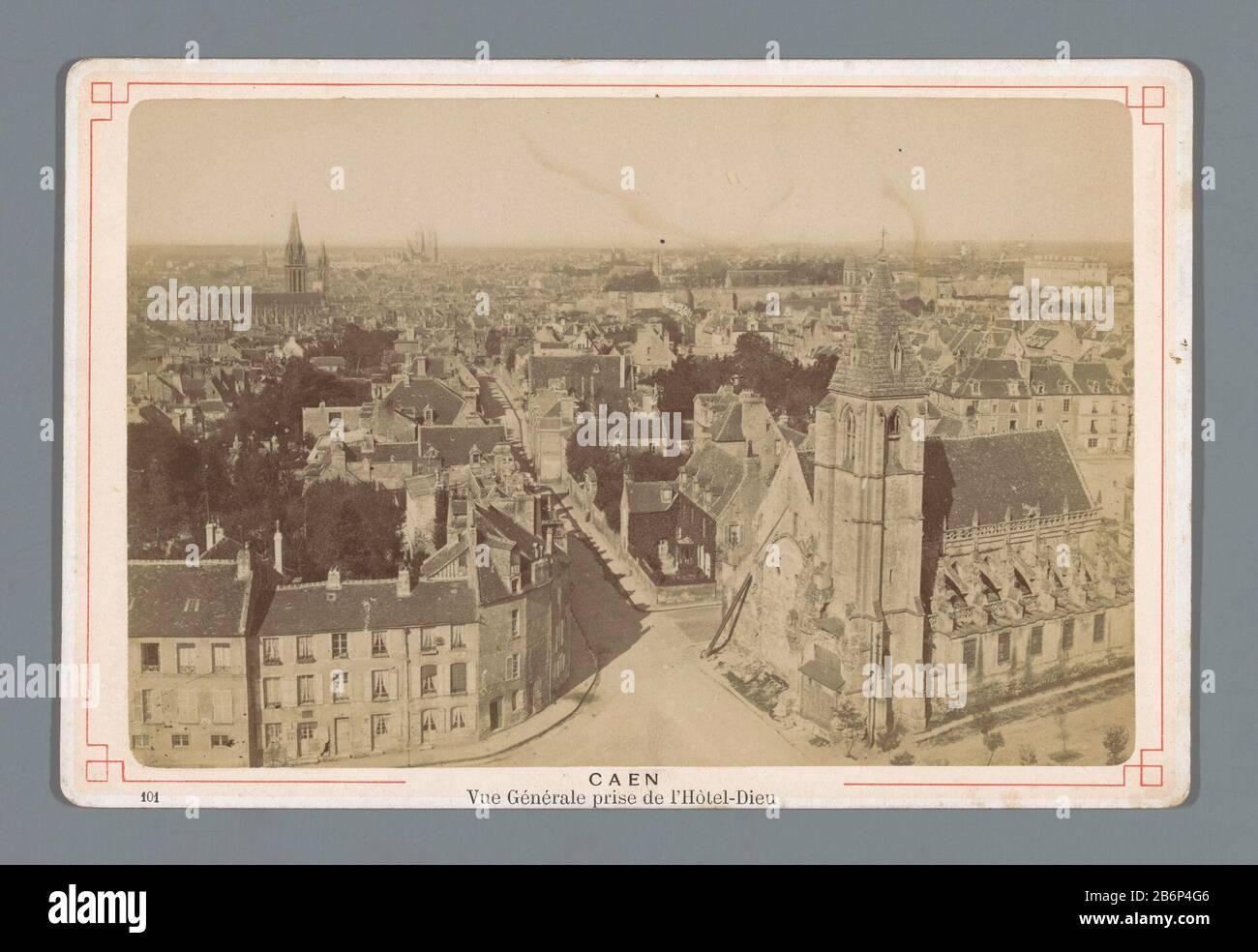 Cabinet D Architecte Caen view of caen taken from the l'hôtel-dieuvue generale prize