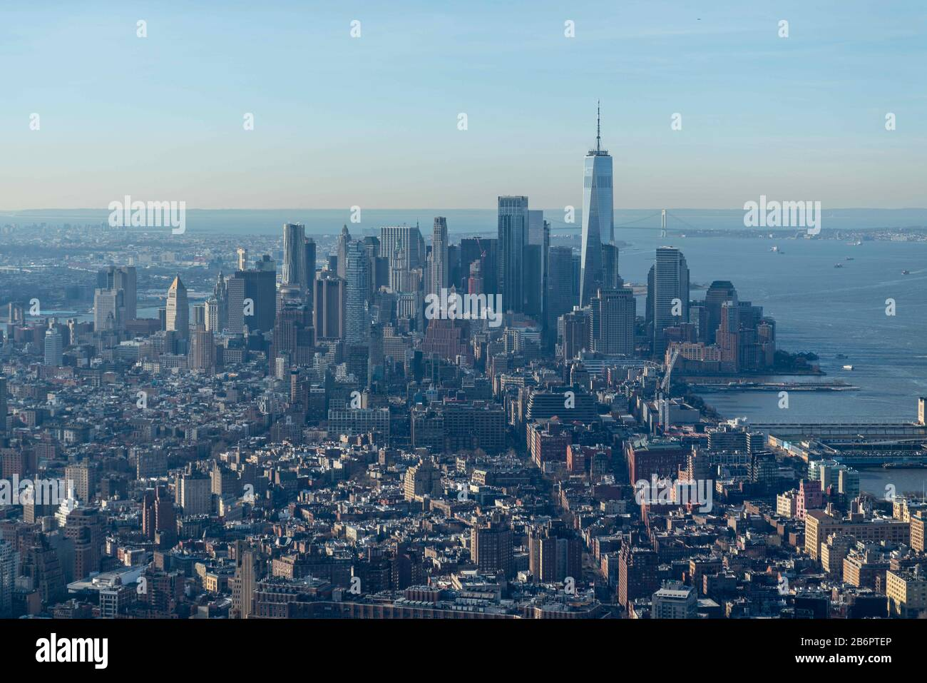 New York, USA. 11th Mar, 2020. New York, New York, U.S.: Edge, located in the heart of Hudson Yards, officially opens to the public and offers a 360 degrees views from the tip of Central Park to the Statue of Liberty. Credit: Corine Sciboz/ZUMA Wire/Alamy Live News Stock Photo