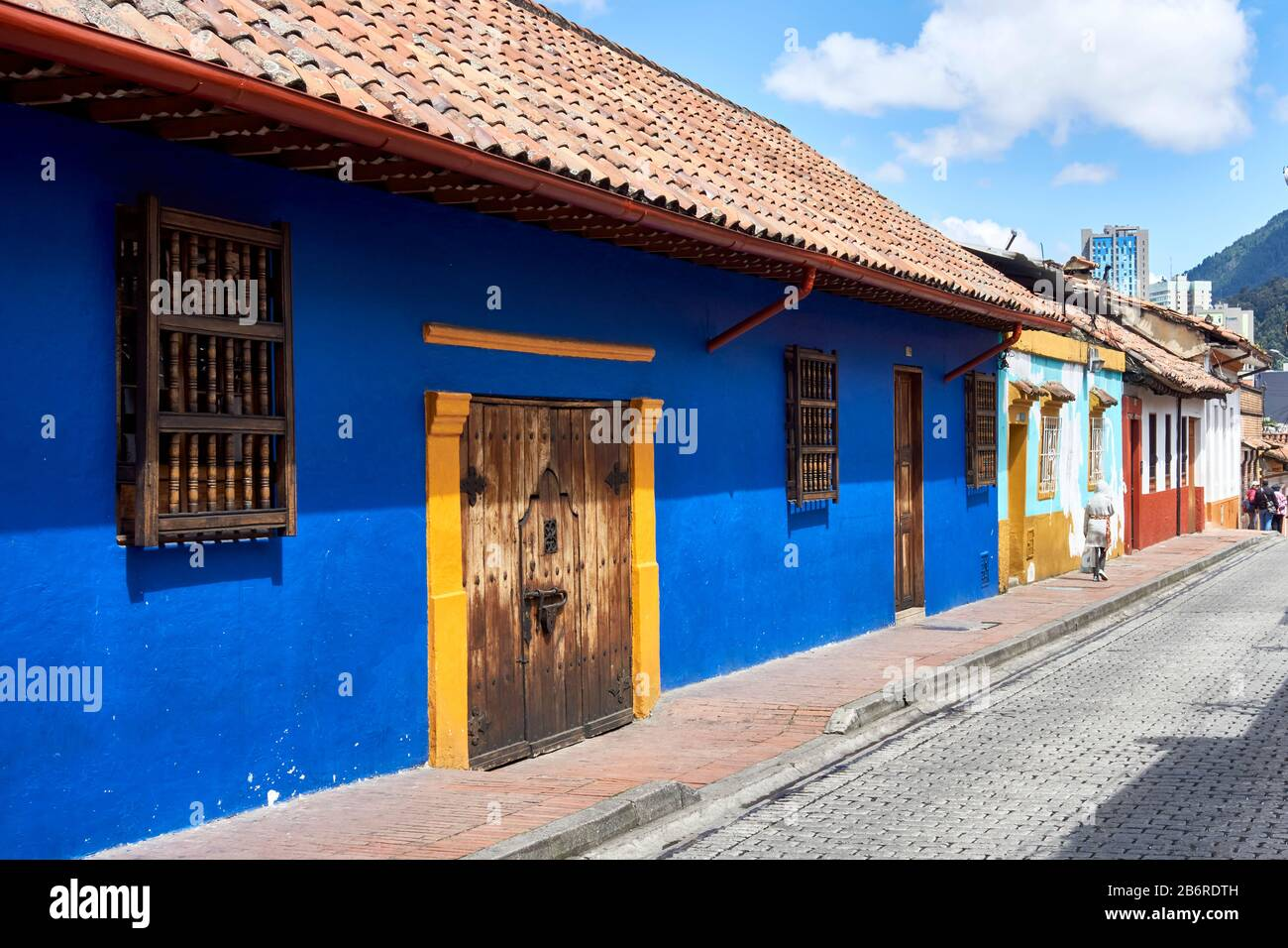 Old Town, Bogota, Colombia, South America Stock Photo