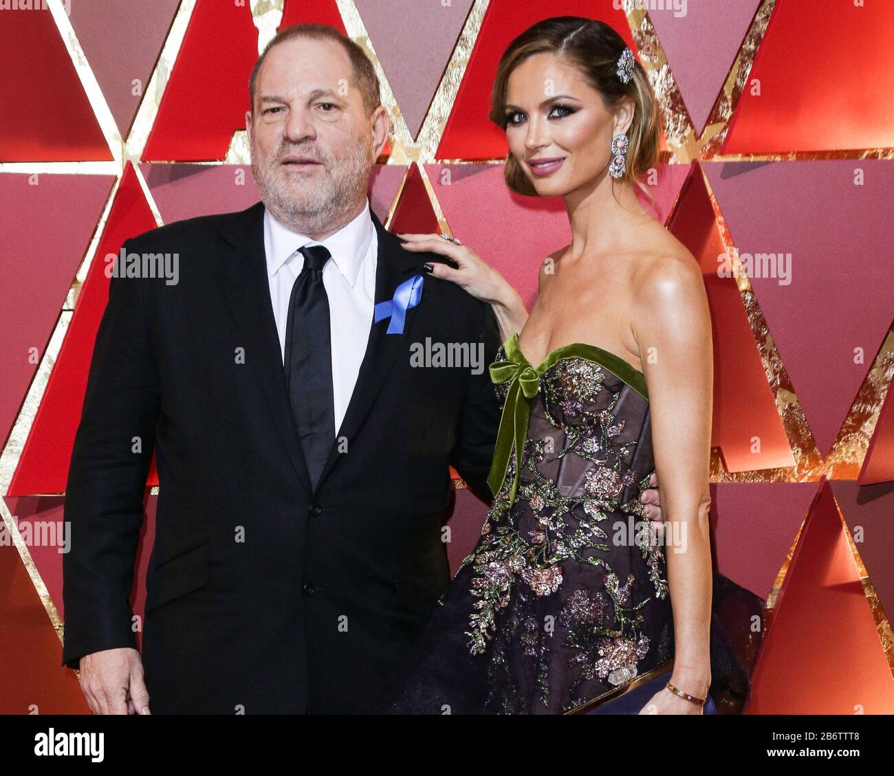 (FILE) 11th Mar 2020. Harvey Weinstein Sentenced to 23 Years in Prison. Harvey Weinstein will spend 23 years in a New York State prison after being sentenced by Supreme Court Judge James Burke on the morning of Wednesday, March 11, 2020. In pic: HOLLYWOOD, LOS ANGELES, CALIFORNIA, USA - FEBRUARY 26: Harvey Weinstein and wife/fashion designer Georgina Chapman arrive at the 89th Annual Academy Awards held at the Hollywood and Highland Center on February 26, 2017 in Hollywood, Los Angeles, California, United States. (Photo by Image Press Agency) Credit: Image Press Agency/Alamy Live News Stock Photo