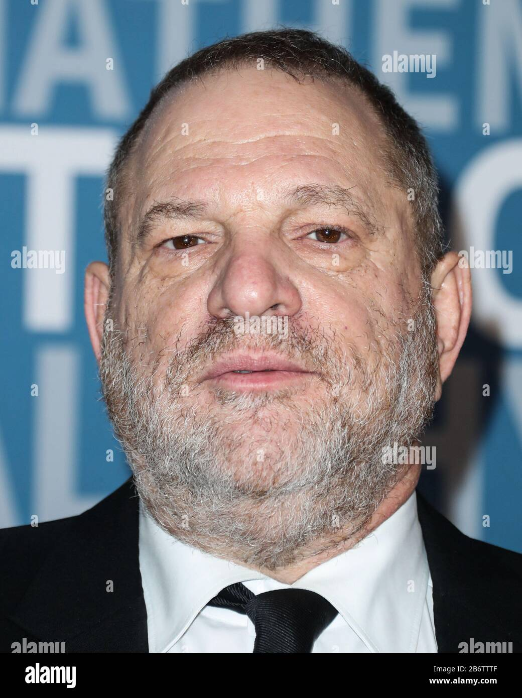 (FILE) 11th Mar 2020. Harvey Weinstein Sentenced to 23 Years in Prison. Harvey Weinstein will spend 23 years in a New York State prison after being sentenced by Supreme Court Judge James Burke on the morning of Wednesday, March 11, 2020. In pic: MOUNTAIN VIEW, SANTA CLARA, CALIFORNIA, USA - DECEMBER 04: Harvey Weinstein arrives at the 2017 Breakthrough Prize held at NASA Ames Research Center on December 4, 2016 in Mountain View, Santa Clara, California, United States. Credit: Image Press Agency/Alamy Live News Stock Photo