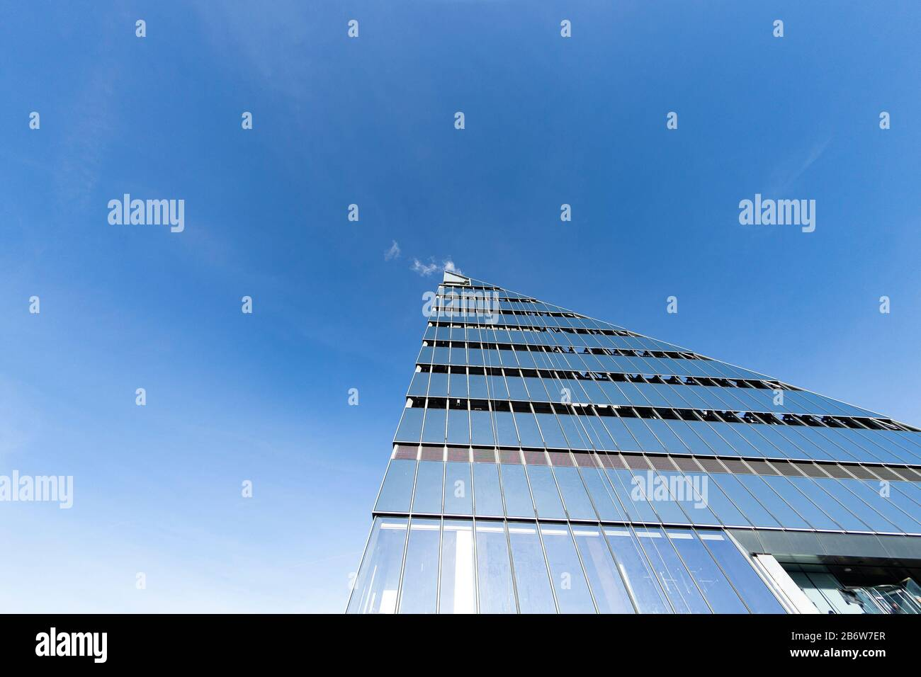 New York, United States. 11th Mar, 2020. View of top of the building from The Edge the highest Western Hemisphere outdoor sky deck during opening at 30 Hudson Yards (Photo by Lev Radin/Pacific Press) Credit: Pacific Press Agency/Alamy Live News Stock Photo