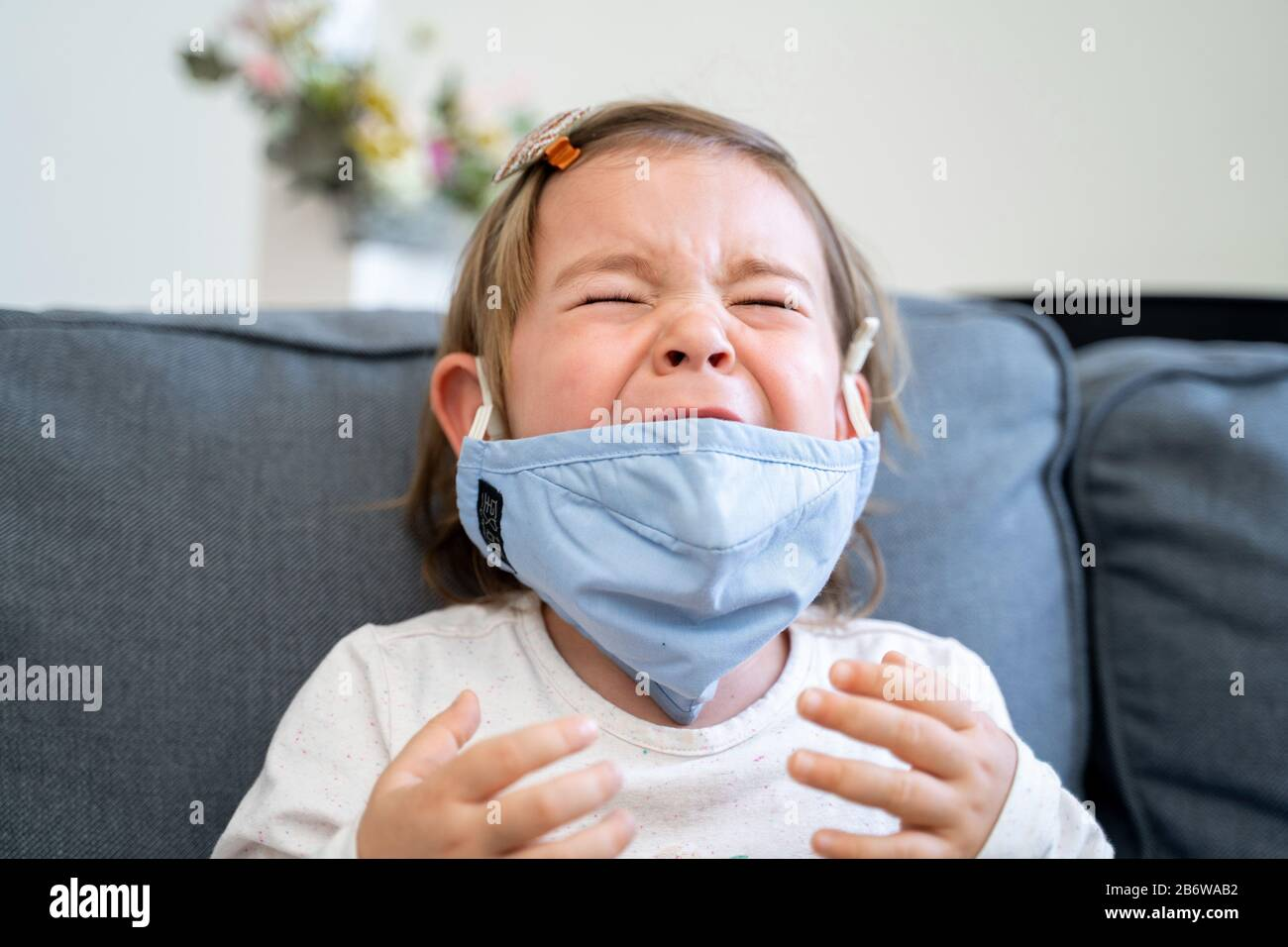 toddler face mask virus