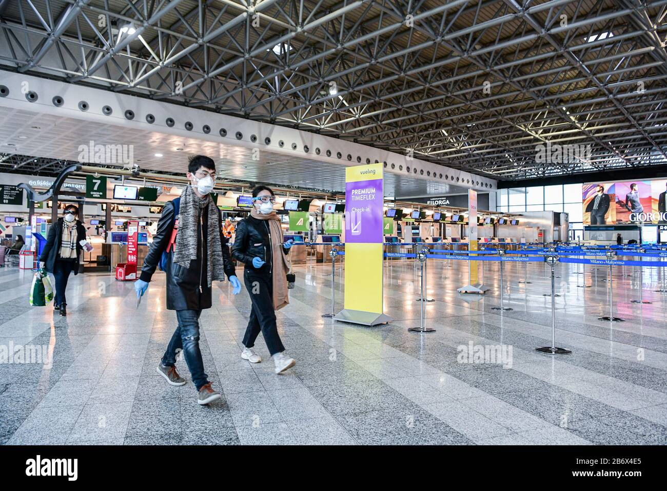 Milan Malpensa Airport High Resolution Stock Photography And Images Alamy