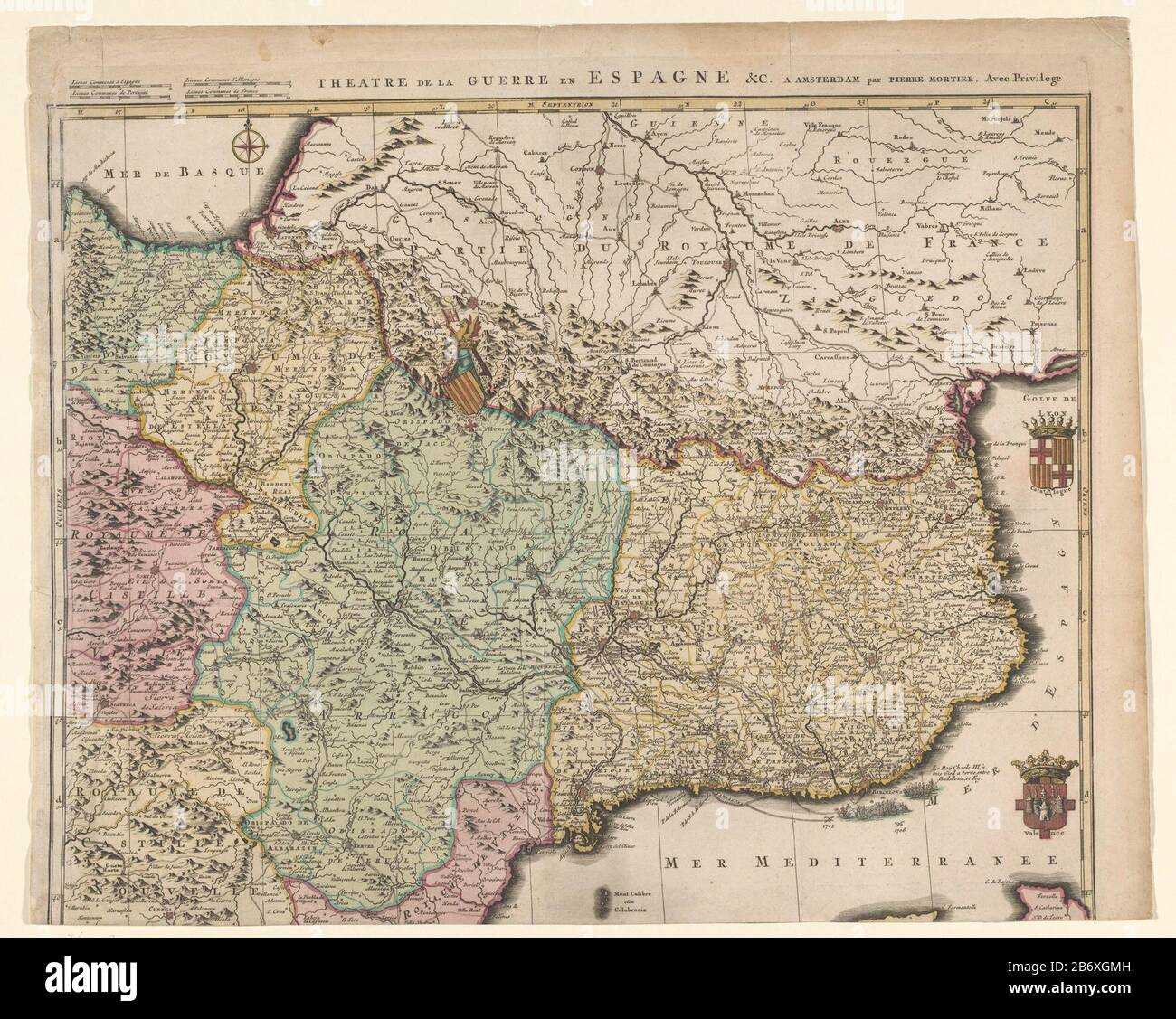 Page 2 Map Of Catalonia High Resolution Stock Photography And Images Alamy