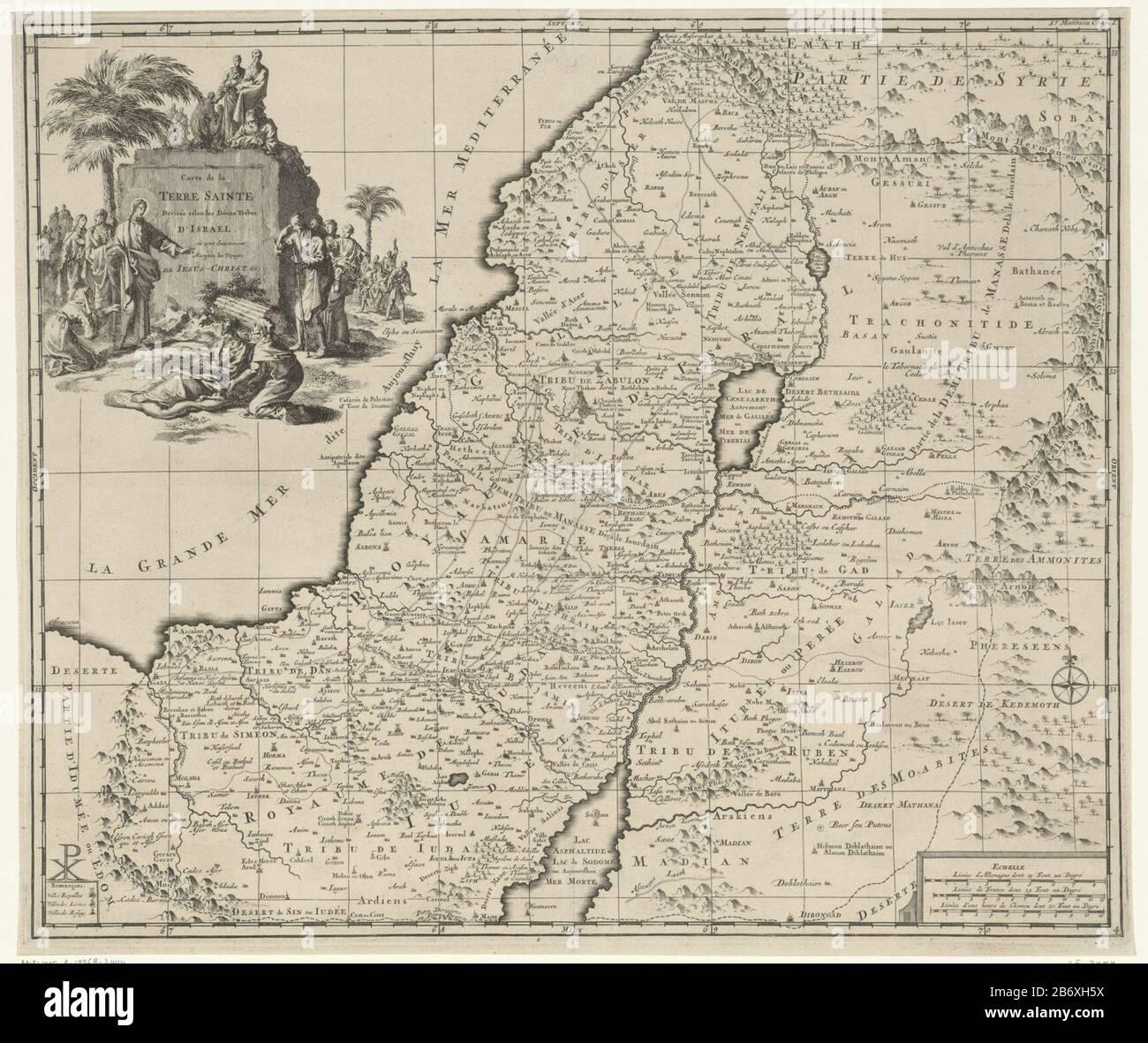carte de la terre plate Map of Israel Carte de la Terre Sainte (title object) Object type