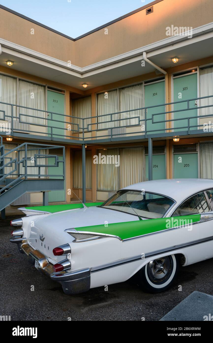 USA,Deep South,  Tennessee, Memphis, National Civil Rights Museum Stock Photo