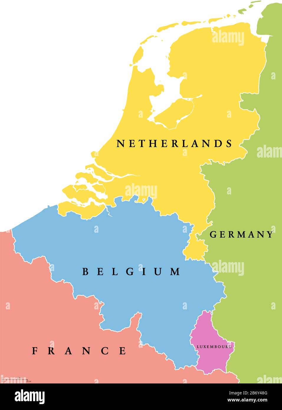 Map Of Netherlands High Resolution Stock Photography And Images Alamy
