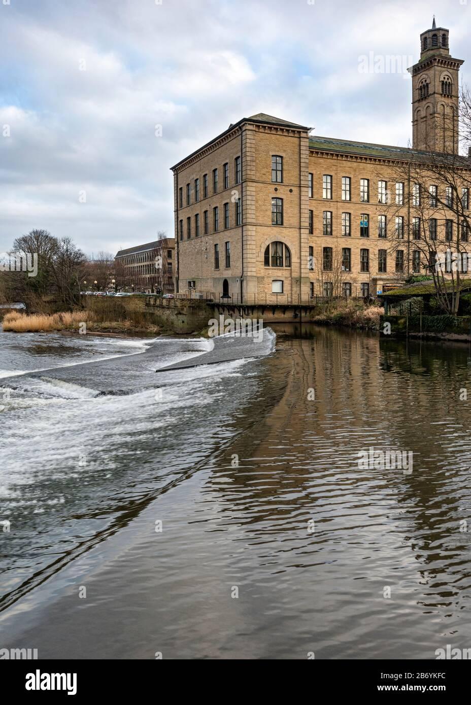 Salts Mill at Shipley Stock Photo