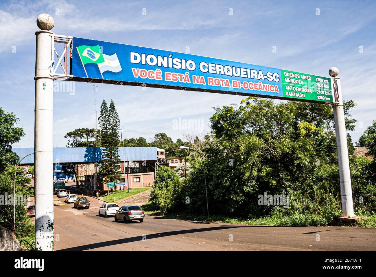 Dionísio Cerqueira Santa Catarina fonte: c8.alamy.com