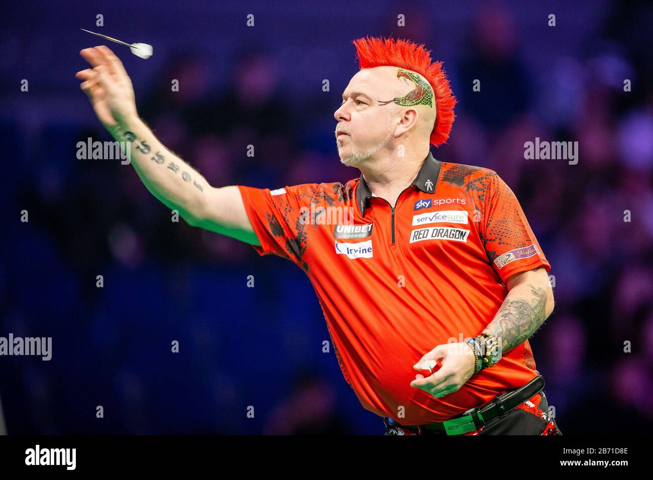 Liverpool, UK. 12th Mar, 2020. Professional Darts Corporation ...