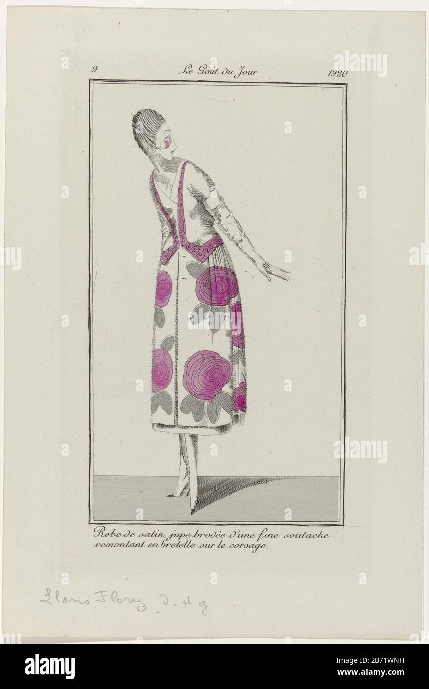 broderie French CONSEILLER DAMES SEWING PATTERN March 1847 Corsage Chapeau