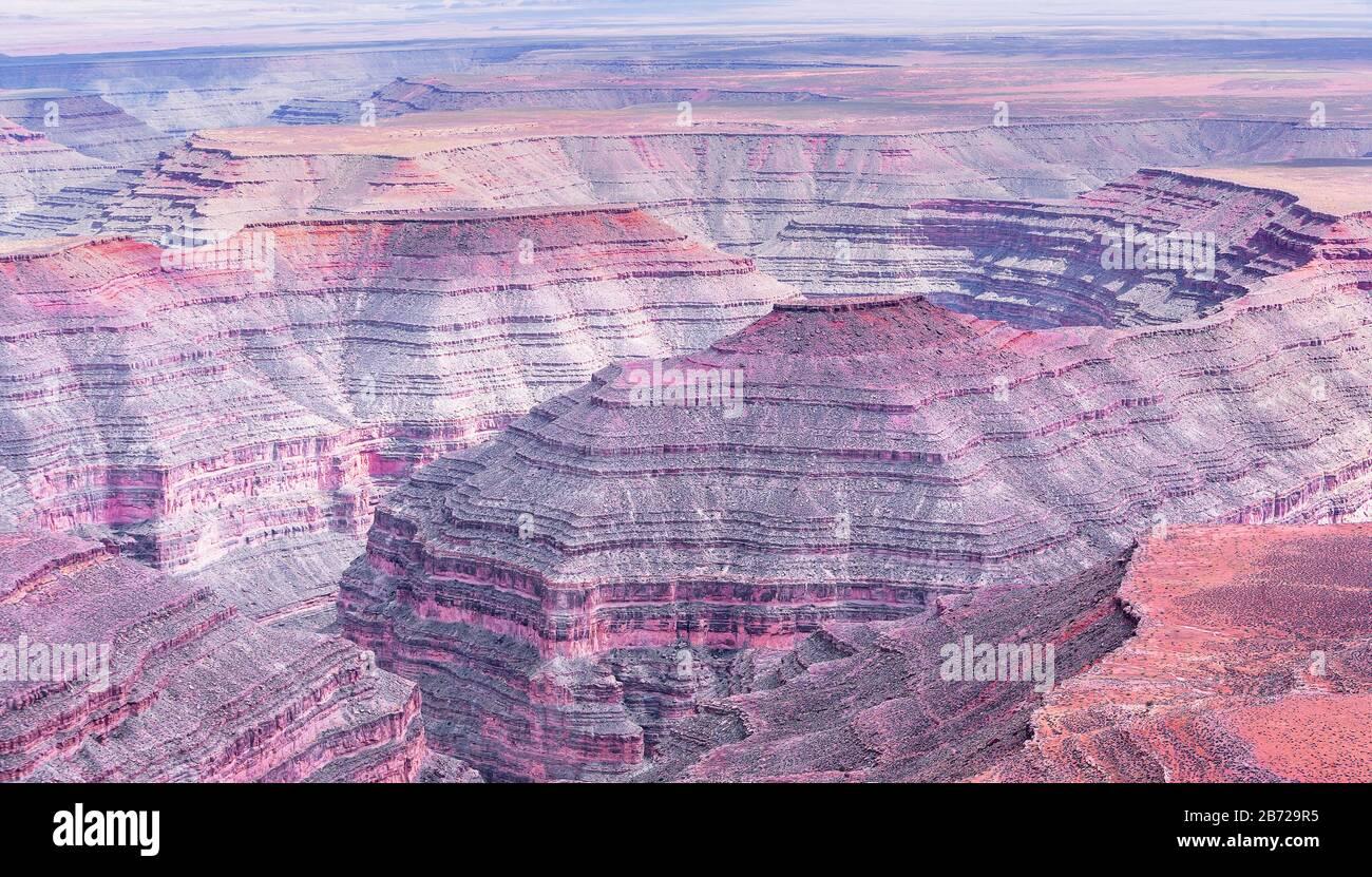 Goosenecks State Park, Utah, USA, Stock Photo