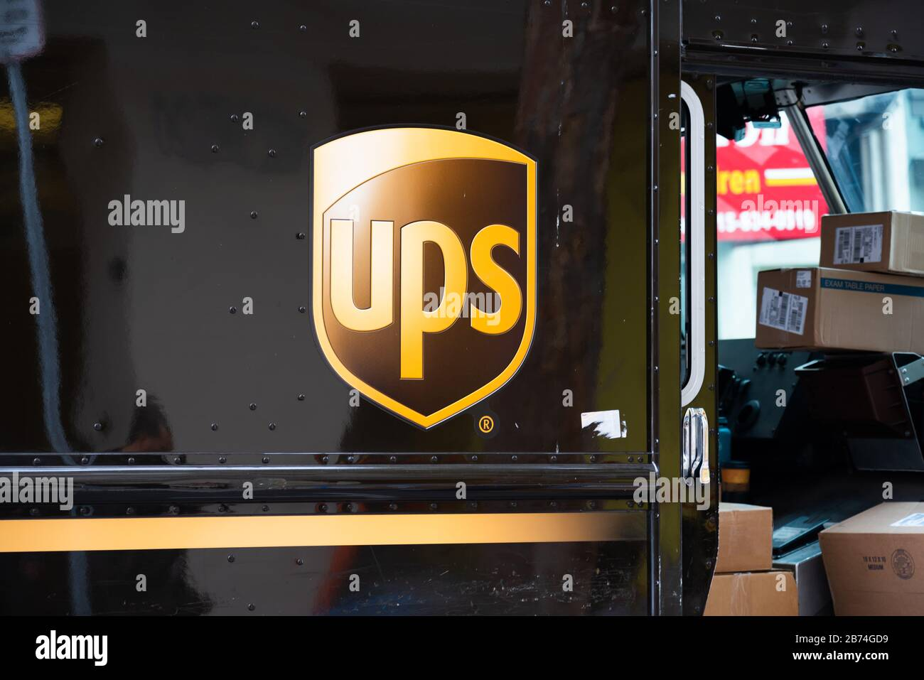 January 22 2020 San Francisco United States American Multinational Package Delivery And Supply Chain Management Company