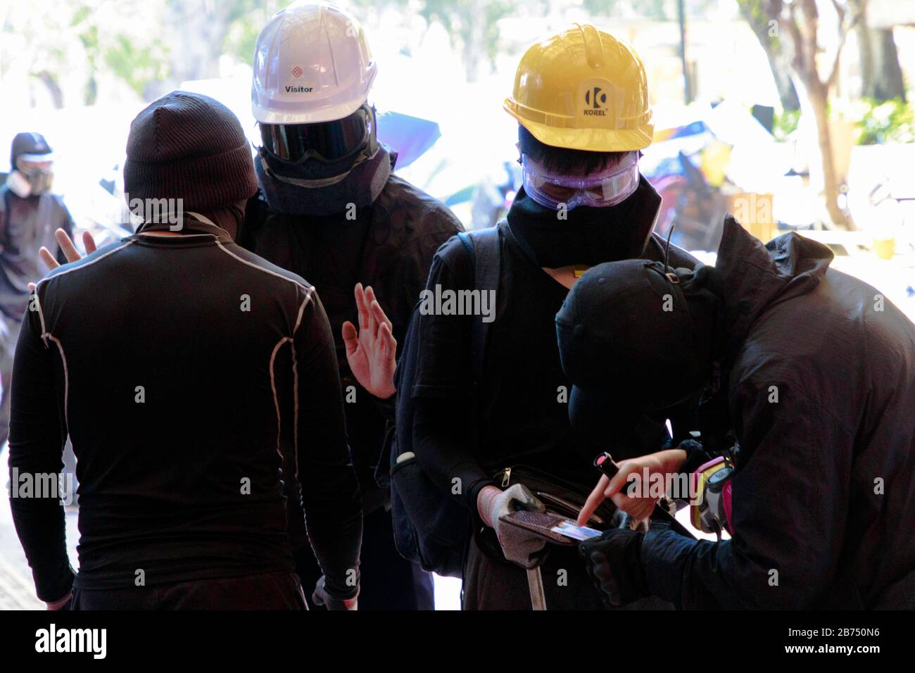 Anti-government protests in Hong Kong, 2019 Stock Photo