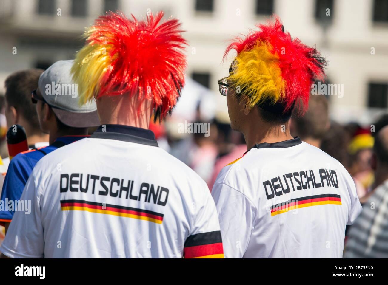 Deutschland Fan Box Fahne Fan Schal Cap