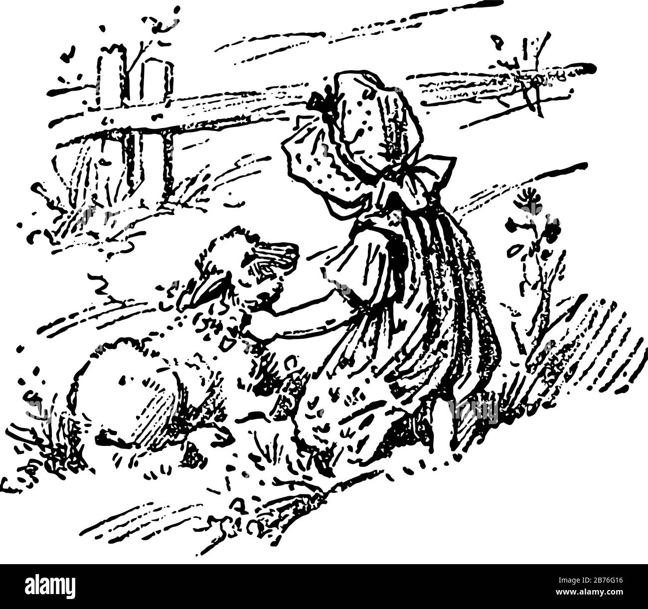 Mary Had A Little Lamb High Resolution Stock Photography And Images Alamy