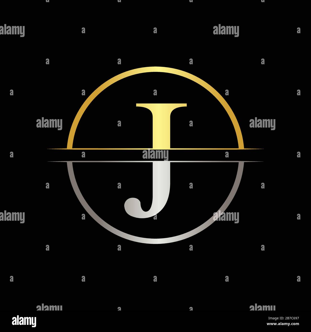 Initial Letter J Logo Design Business Vector Template Creative Abstract Letter J Logo Vector Stock Vector Image Art Alamy