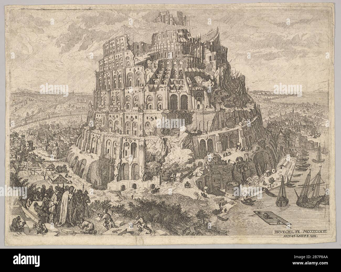 Bruegel Tower Of Babel High Resolution Stock Photography And Images Alamy