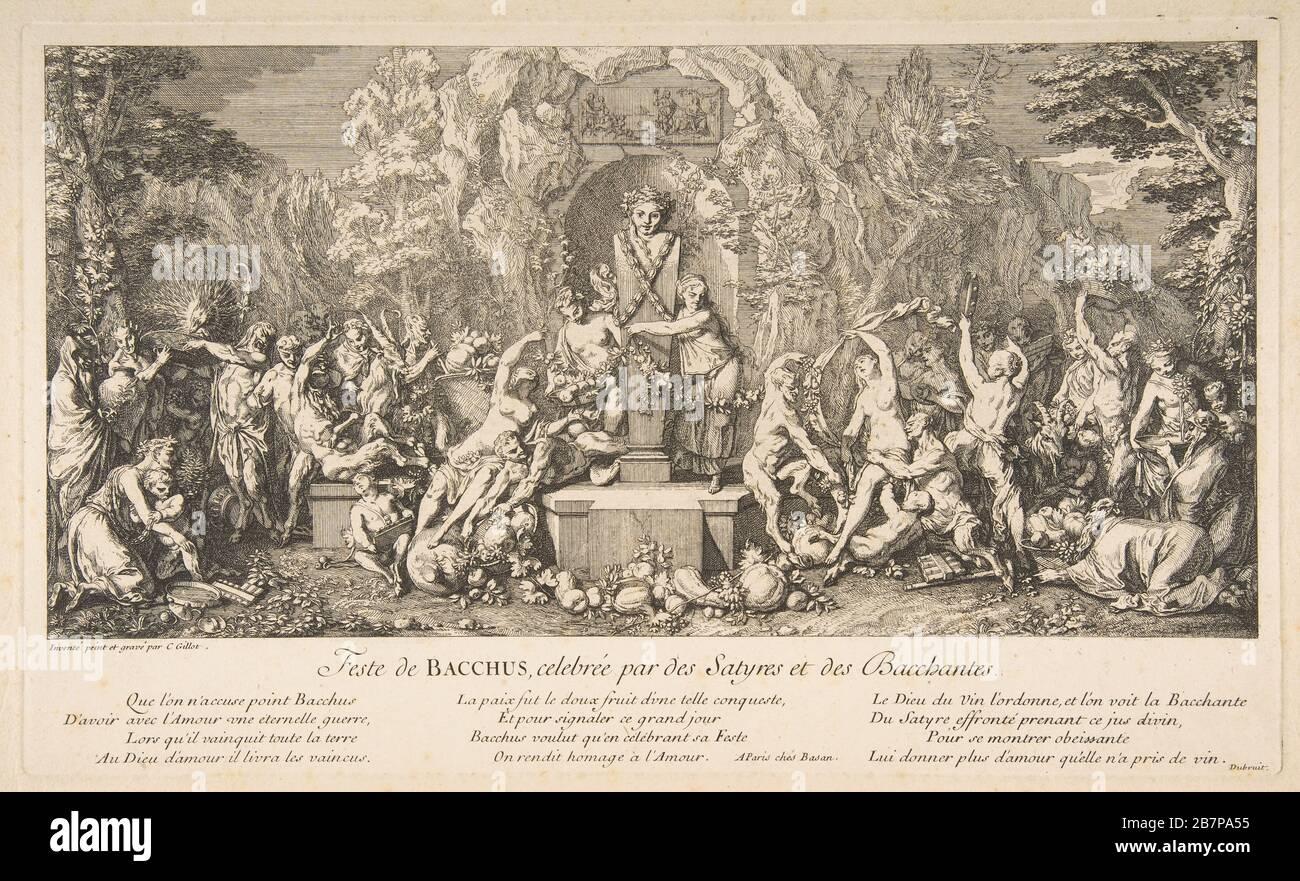 The Fête of Bacchus.n.d. Stock Photo