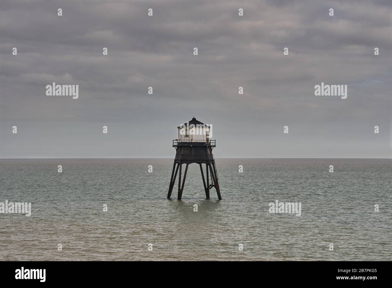 Dovercourt Lighthouse, Essex Stock Photo