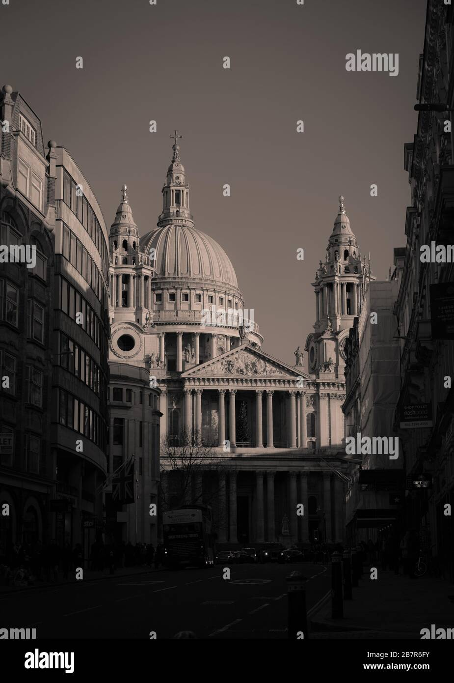 The Christmas of St. Paul's Cathedral, London,  England, UK (2019) Stock Photo