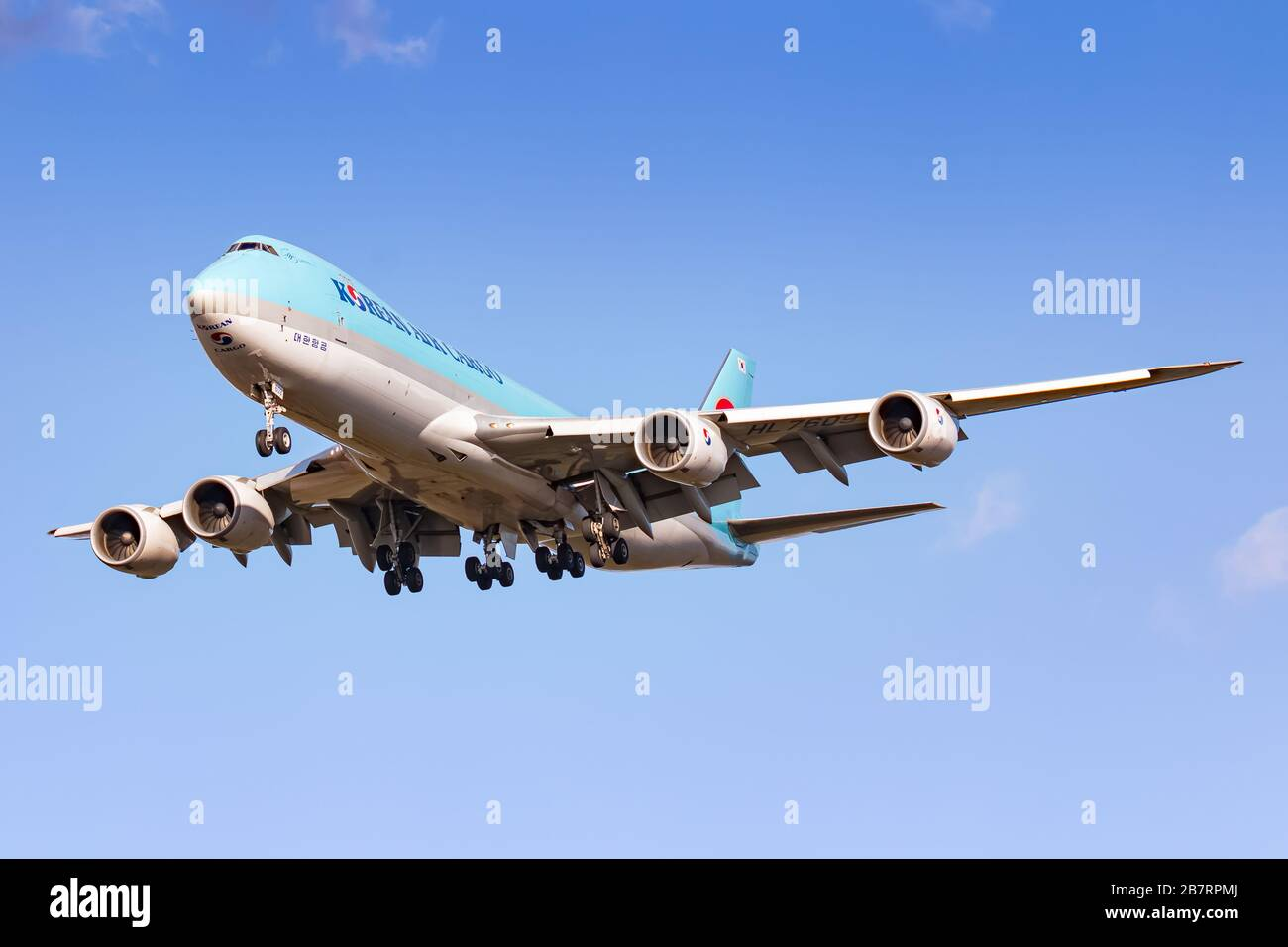 Frankfurt Germany February 25 2020 Korean Air Cargo Boeing 747 Airplane At Frankfurt Int L Airport Fra In Germany Boeing Is An Aircraft Manufa Stock Photo Alamy